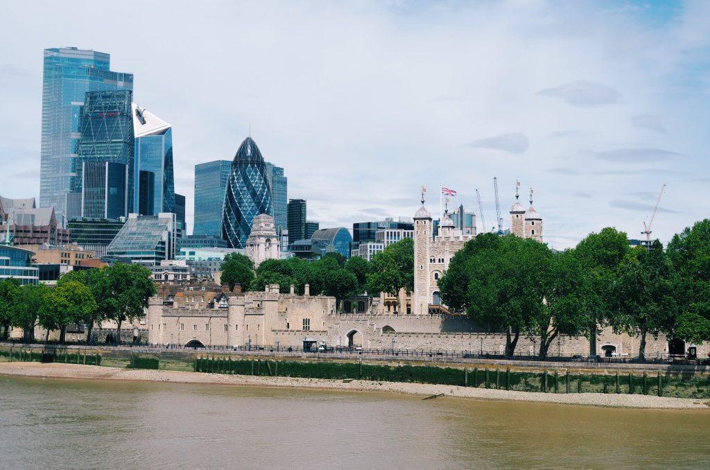 La Tour de Londres et City