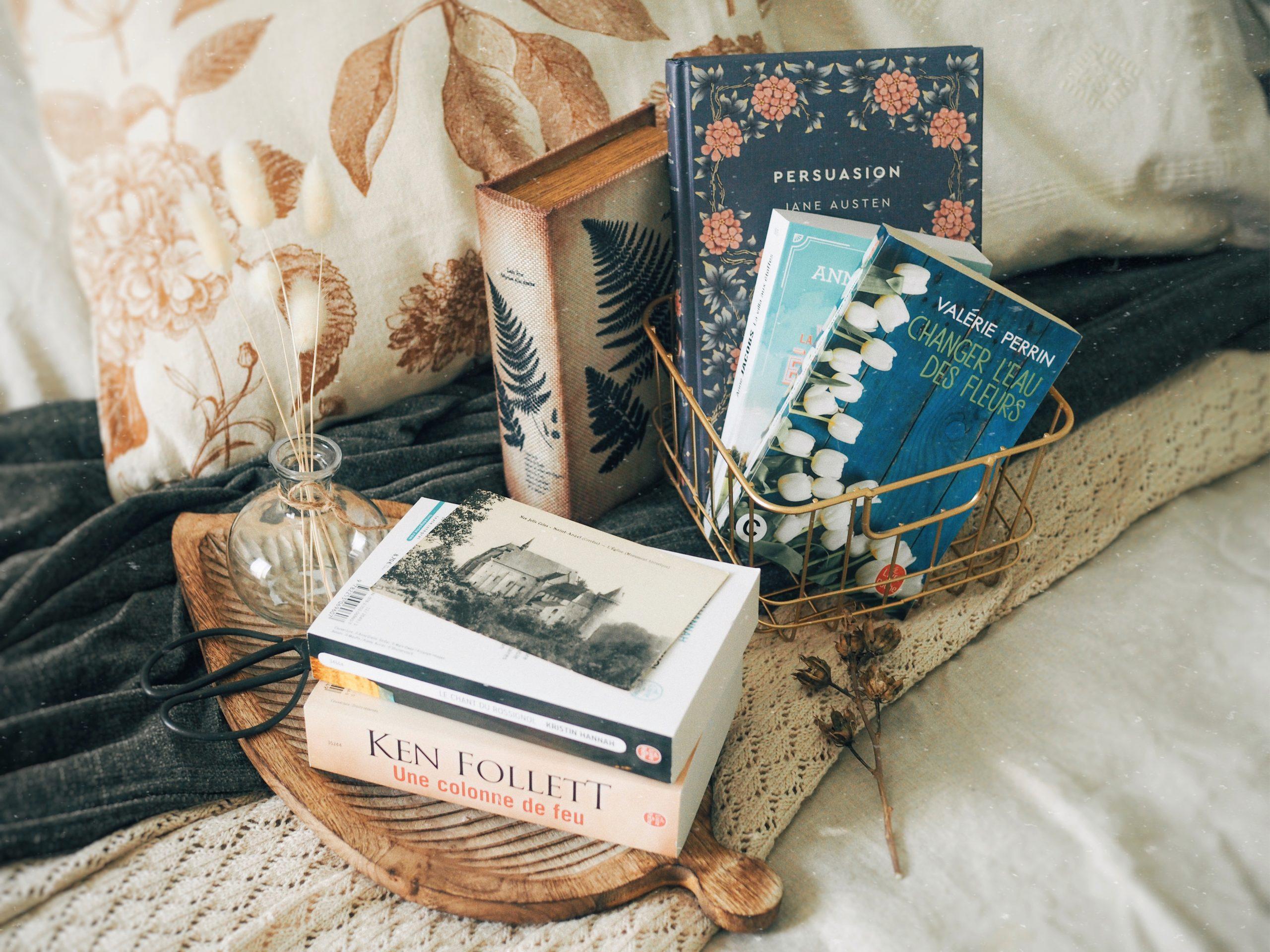 Cinq livres que je veux lire cet été
